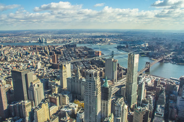 The Lower Eastside from above