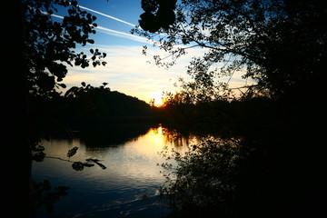 Photo sur Plexiglas Nature Natuur vijver meer