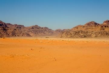 Desert in Wadi rum - Jordan