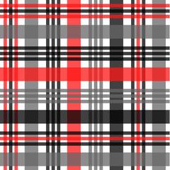 Tartan pattern,Scottish traditional fabric, orange and black tone background.