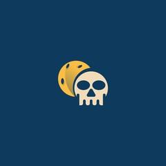 head skull logo