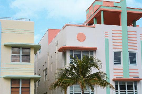 Art Deco buildings in Miami, Florida