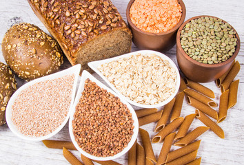 Carbohydrates - a basic source of energy for the human body.