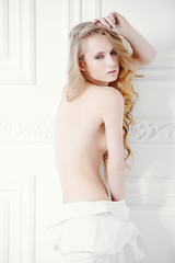 Foto op Canvas Akt nude sexy girl