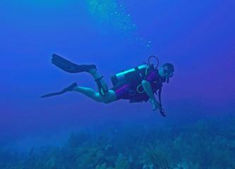 Scuba Diver BVI