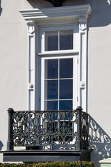 Window and balcony