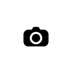 Camera Icon. vector symbol isolated on white background