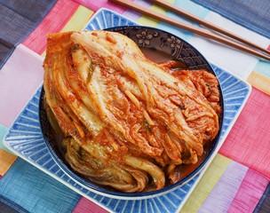 한국의 전통음식 김치