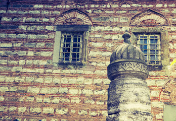 Old window Architecture from the Ottoman times