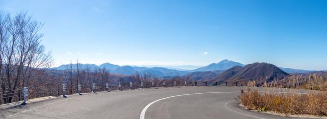 磐梯山方面の風景(磐梯吾妻スカイライン)
