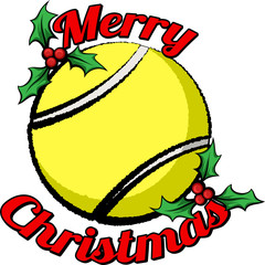 tennis-merry-christmas