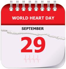 Calendar world heart day