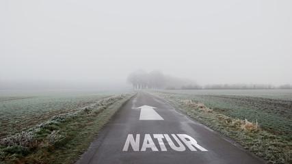 Schild 402 - Natur
