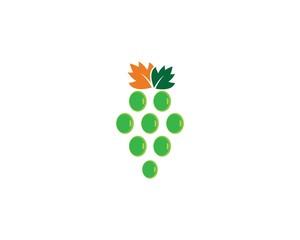 Grape logo illustration