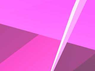 pink abstract background, 3D rendering.