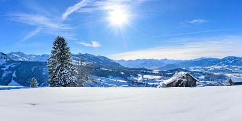 winterliches Oberallgäu