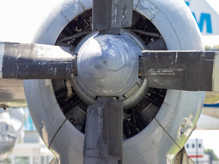 Propellor of a old plane
