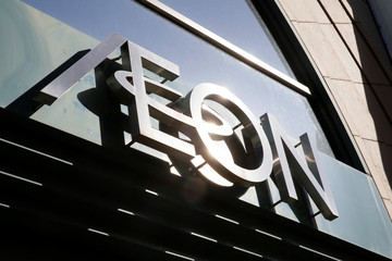 The Aeon logo is seen on a store in Osaka