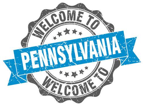 Pennsylvania round ribbon seal