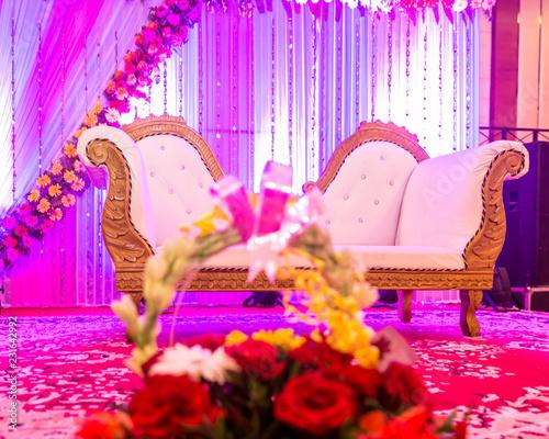 Indian Wedding Stage Indian Wedding Decoration Indian Beautiful