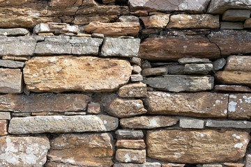 Old stone wall, background image, Scotland, Great Britain