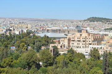 view of urfa from hill