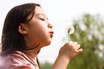 Lovely girl in the outdoor