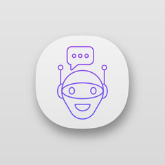 Chat bot app icon
