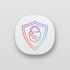 Cybersecurity app icon