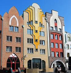 Häuserzeile in der Altstadt von Elblag