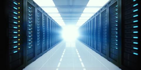 Server farm – data center environment – computer center