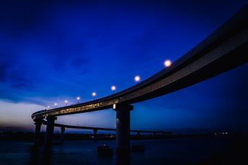 Inaba Port Line Bridge, Mie, Japan
