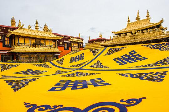 Tibet Lhasa, jokhang temple