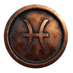 Horoscope sign Pisces Illustration