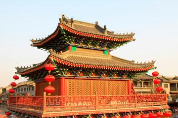 Foto op Aluminium Xian Chinese traditional landscape architecture