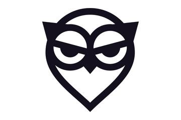 Emblem design on white background