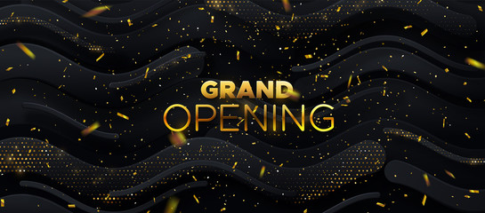 Grand Opening. Business startup ceremony.