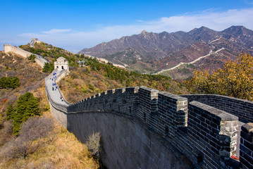 Stores à enrouleur Muraille de Chine Great Wall in Badaling