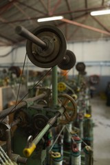 Loop machine in rope making industry