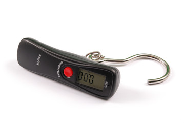Small portable electronic scale