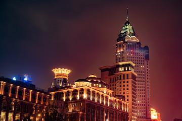Shanghai Bund night
