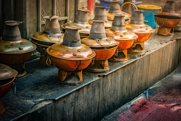 the Beijing hot pots