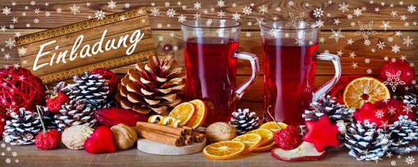 Weihnachten -  Einladung