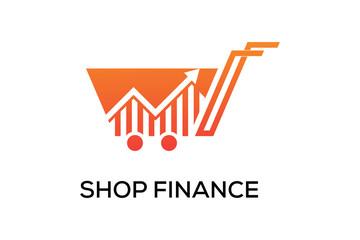 SHOP FINANCE LOGO DESIGN