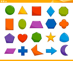 educational basic geometric shapes