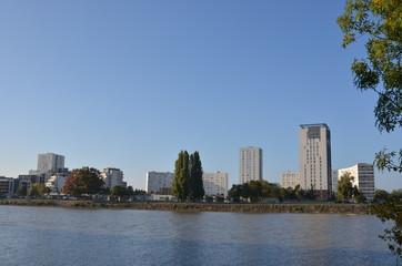 Nantes, quartier du nouveau Malakoff, France