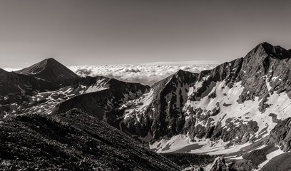 Fototapete - Colorado Rocky Mountains.  View of Mt. Lindsey in the Sangre de Cristo range of southern Colorado.