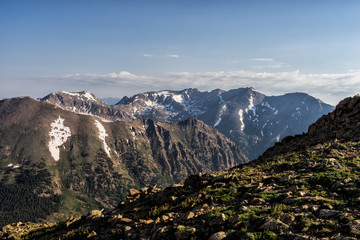 Wall Mural - Colorado Rocky Mountains.  Vast vistas of the Sawatch Range in central Colorado