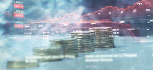 Finanzen - Investment - Hintergrund