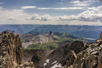 Wall Mural - View of the San Juan Mountains.  Colorado Rockies